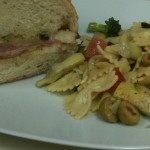 New Orleans Muffuletta and Pasta Salad