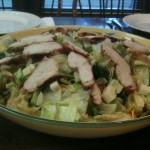 Everything Salad with Grilled Chicken