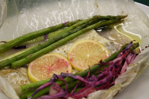 Whitefish en Papillote (In Parchment)