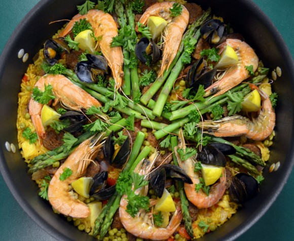 Awesome Spanish Paella