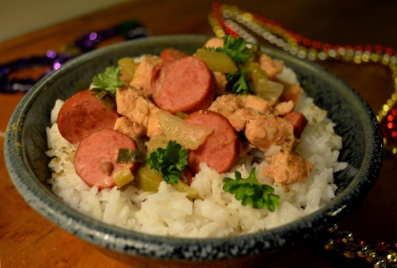 Feb 22 – Louisiana Gumbo w/Shrimp, Sausage & Chicken