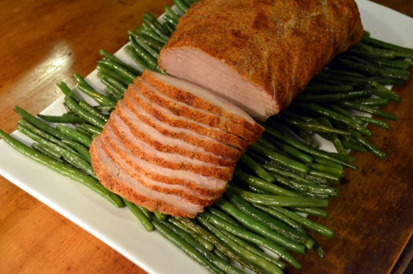 Mar 9 - Spicy Cajun Pork Loin