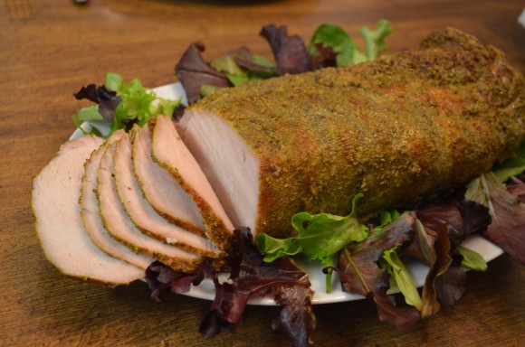 Apr 13 – Herb Rubbed Pork Loin