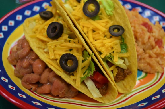 Krispy Beef Tacos