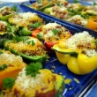 08 - Stuffed Bell Peppers with Ground Beef and Rice