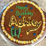 Cookie Cake from Scratch - Birthday Cake