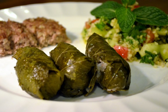 Mama Sara's Stuffed Grape Leaves