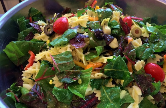 May 15 – Swiss Chard Pasta Salad