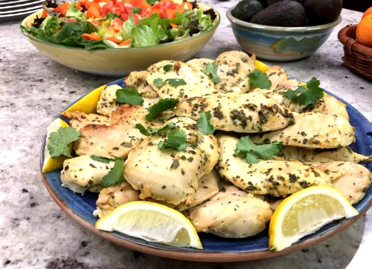 Jan 8 – Lemon Cilantro Chicken